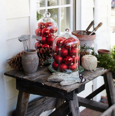 Red, Holiday, Garden, Design